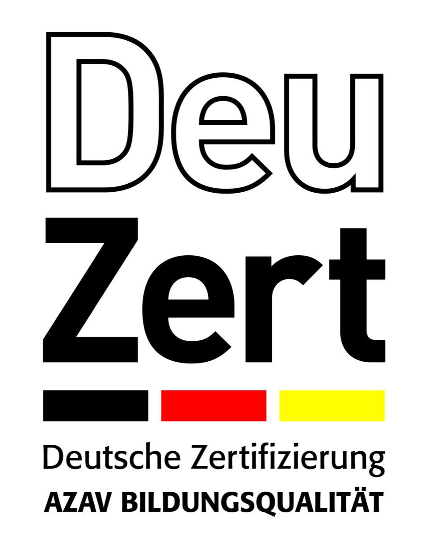 Logo der deutschen Zertifizierung DeuZert
